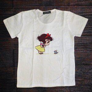 Snow White Girls Short Sleeve Shirt